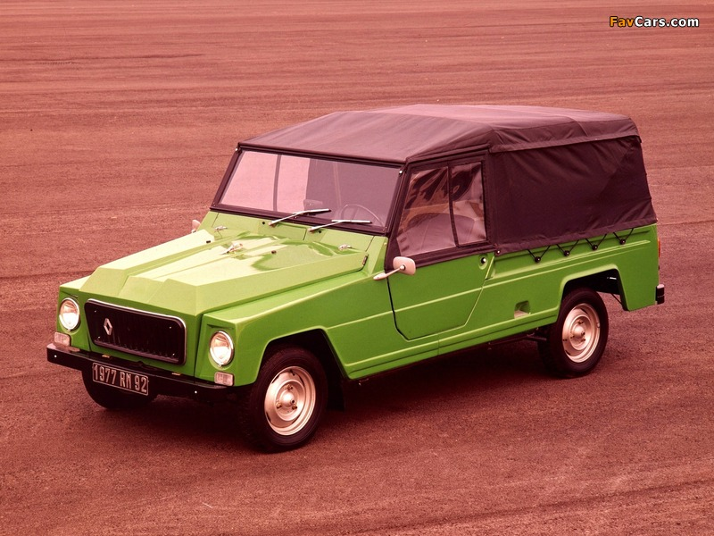 Renault Rodeo 4 1970–81 wallpapers (800 x 600)