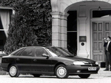 Pictures of Renault Safrane UK-spec 1992–96