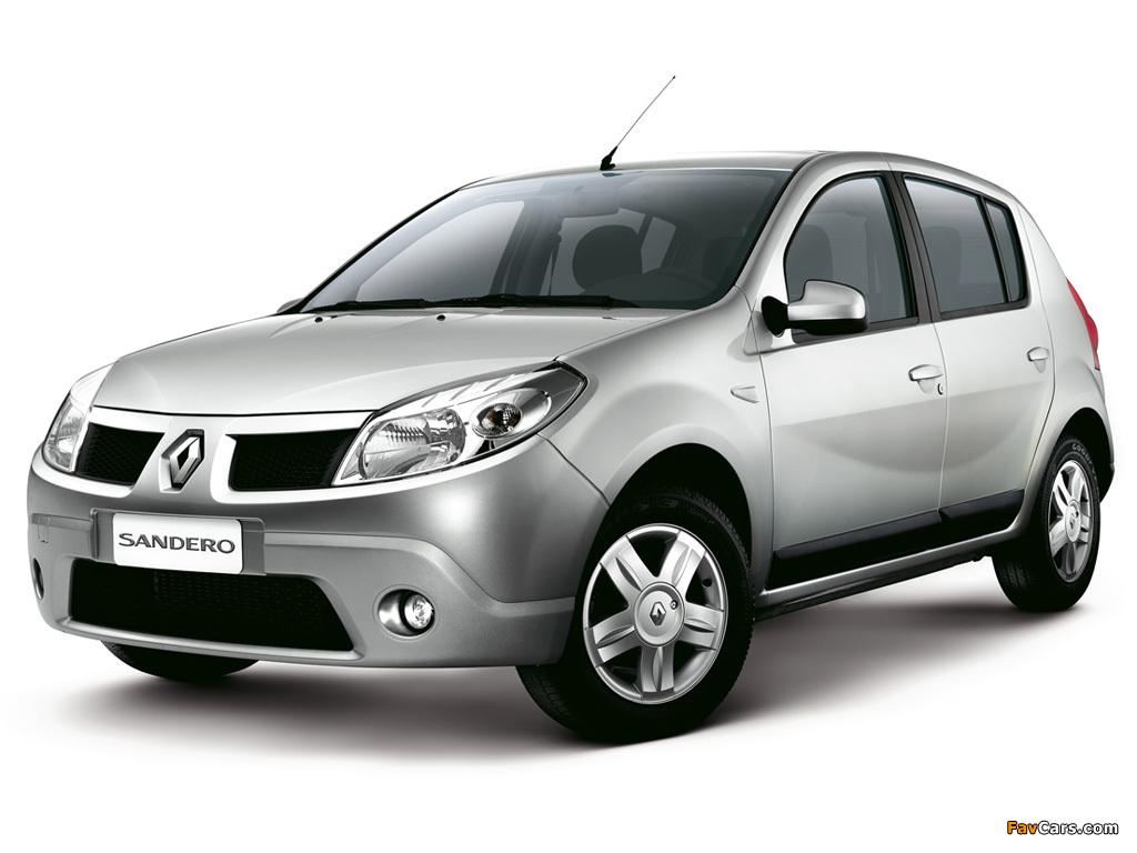 Images of Renault Sandero BR-spec 2007–11 (1024 x 768)