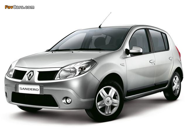 Images of Renault Sandero BR-spec 2007–11 (640 x 480)