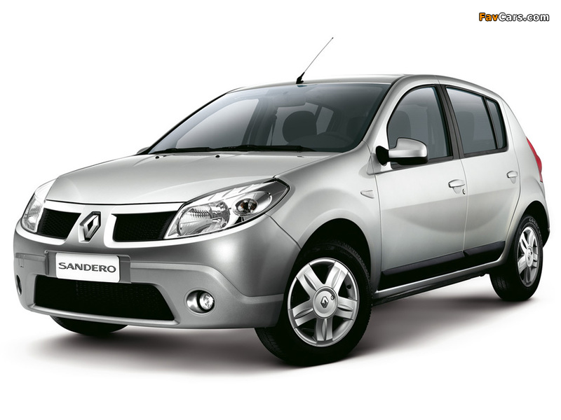 Images of Renault Sandero BR-spec 2007–11 (800 x 600)