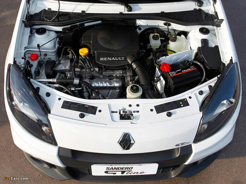 Photos of Renault Sandero GT Line 2012 (1024 x 768)