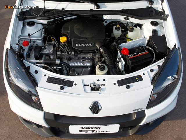 Photos of Renault Sandero GT Line 2012 (640 x 480)