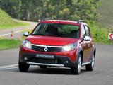 Pictures of Renault Sandero Stepway ZA-spec 2010