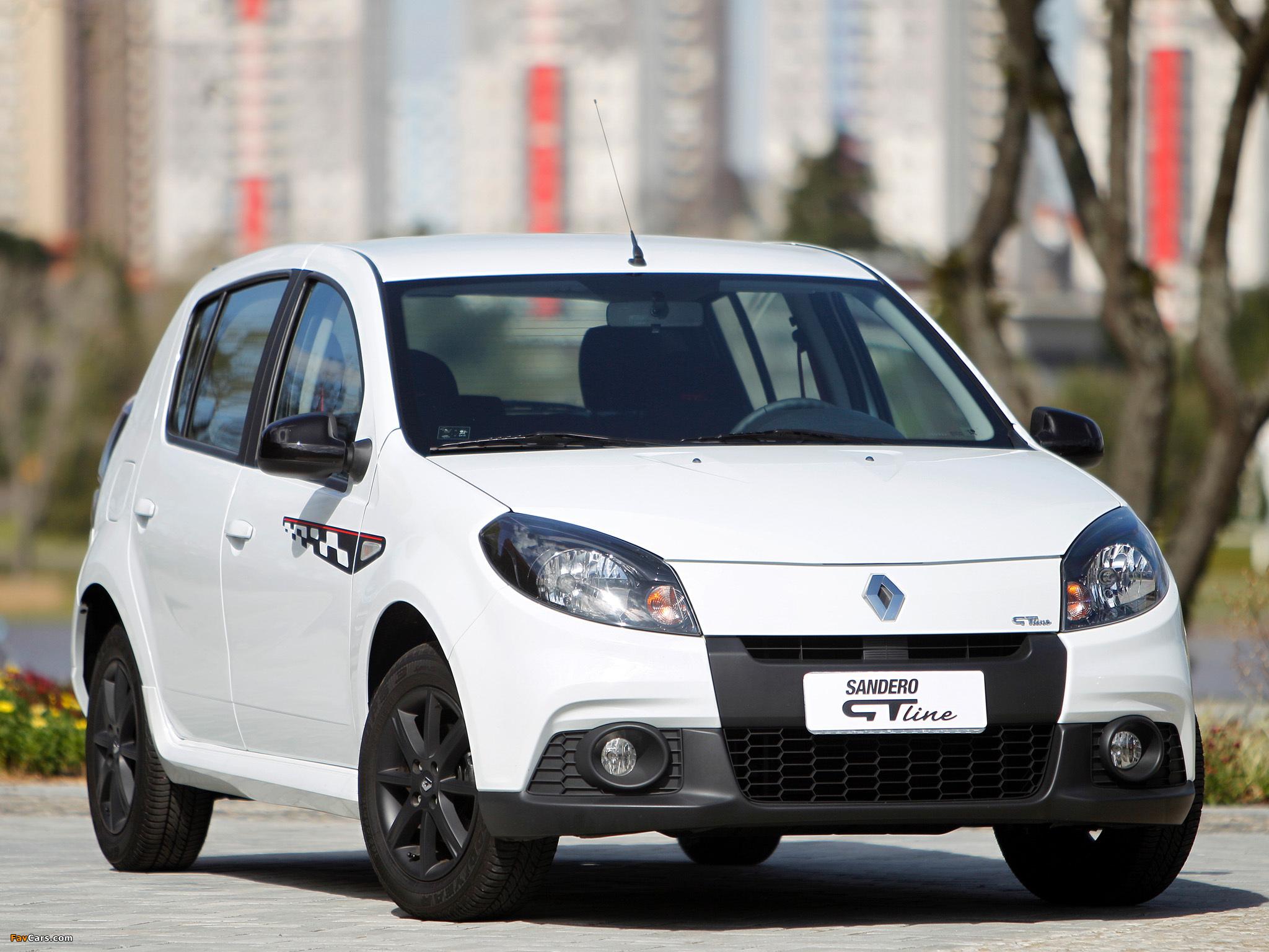 Pictures of Renault Sandero GT Line 2012 (2048 x 1536)
