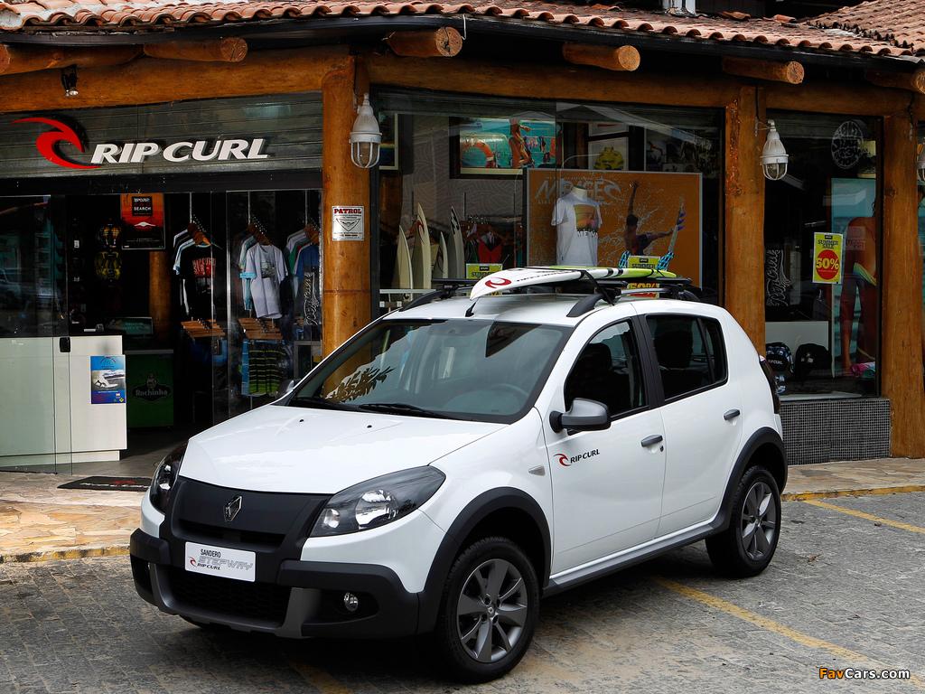 Pictures of Renault Sandero Stepway Rip Curl 2012 (1024 x 768)
