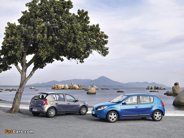 Renault Sandero BR-spec 2007–11 images (640 x 480)