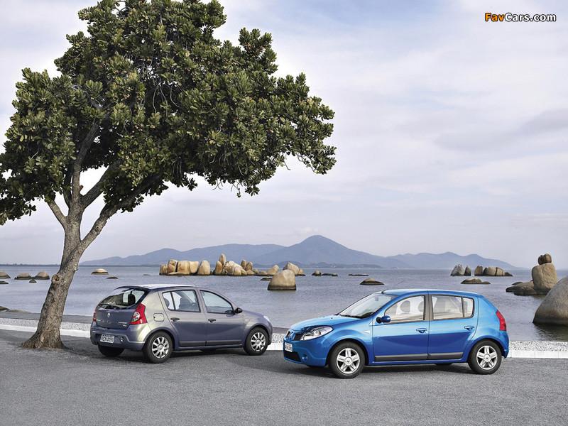 Renault Sandero BR-spec 2007–11 images (800 x 600)