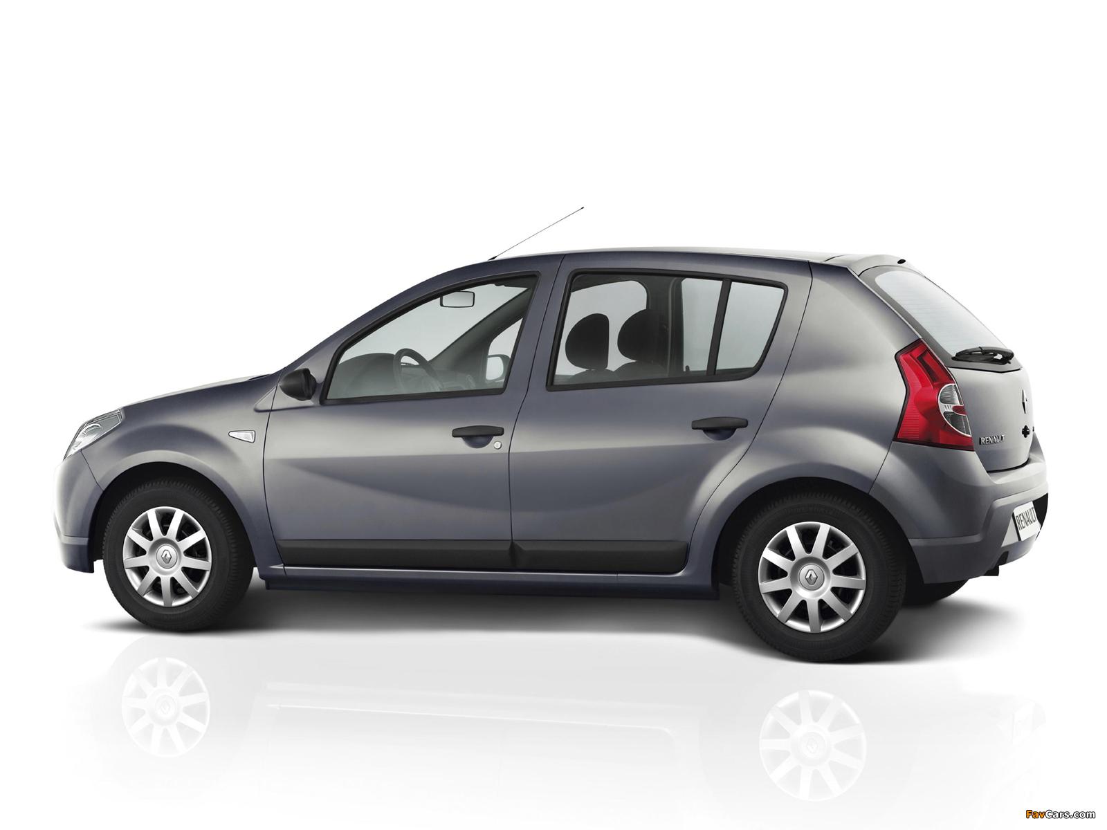 Renault Sandero BR-spec 2007–11 pictures (1600 x 1200)