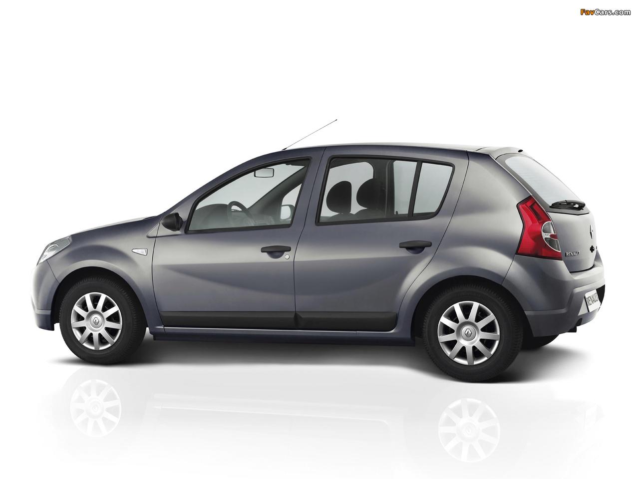 Renault Sandero BR-spec 2007–11 pictures (1280 x 960)