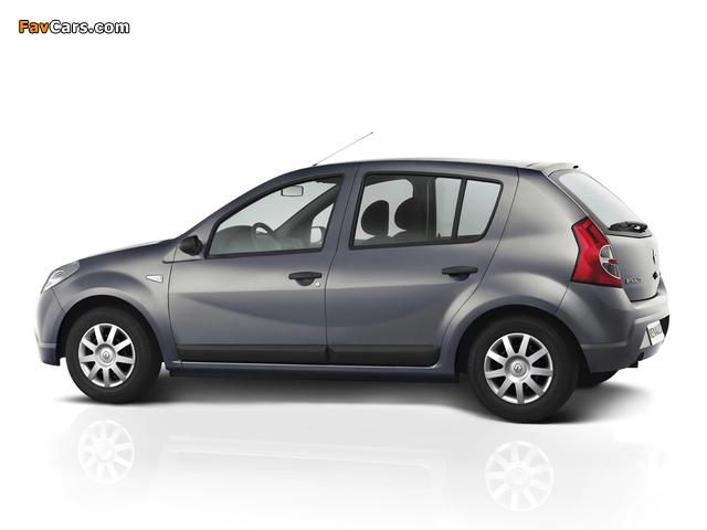 Renault Sandero BR-spec 2007–11 pictures (640 x 480)