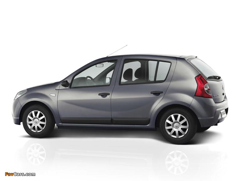 Renault Sandero BR-spec 2007–11 pictures (800 x 600)