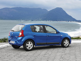 Renault Sandero BR-spec 2007–11 wallpapers