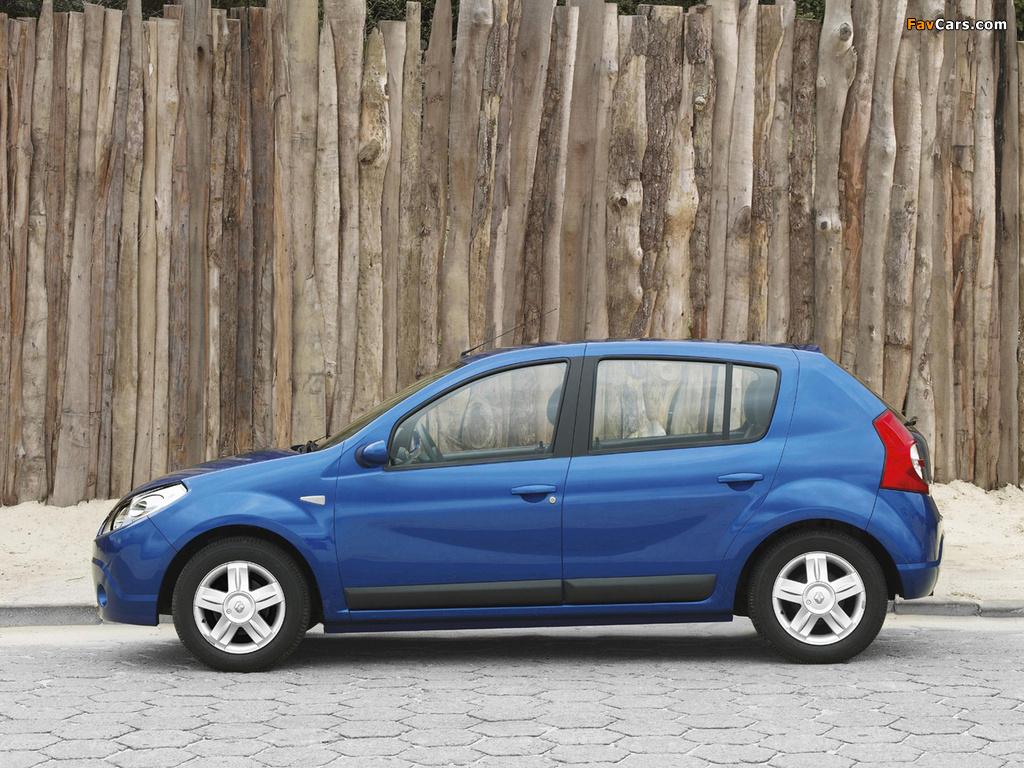 Renault Sandero BR-spec 2007–11 wallpapers (1024 x 768)
