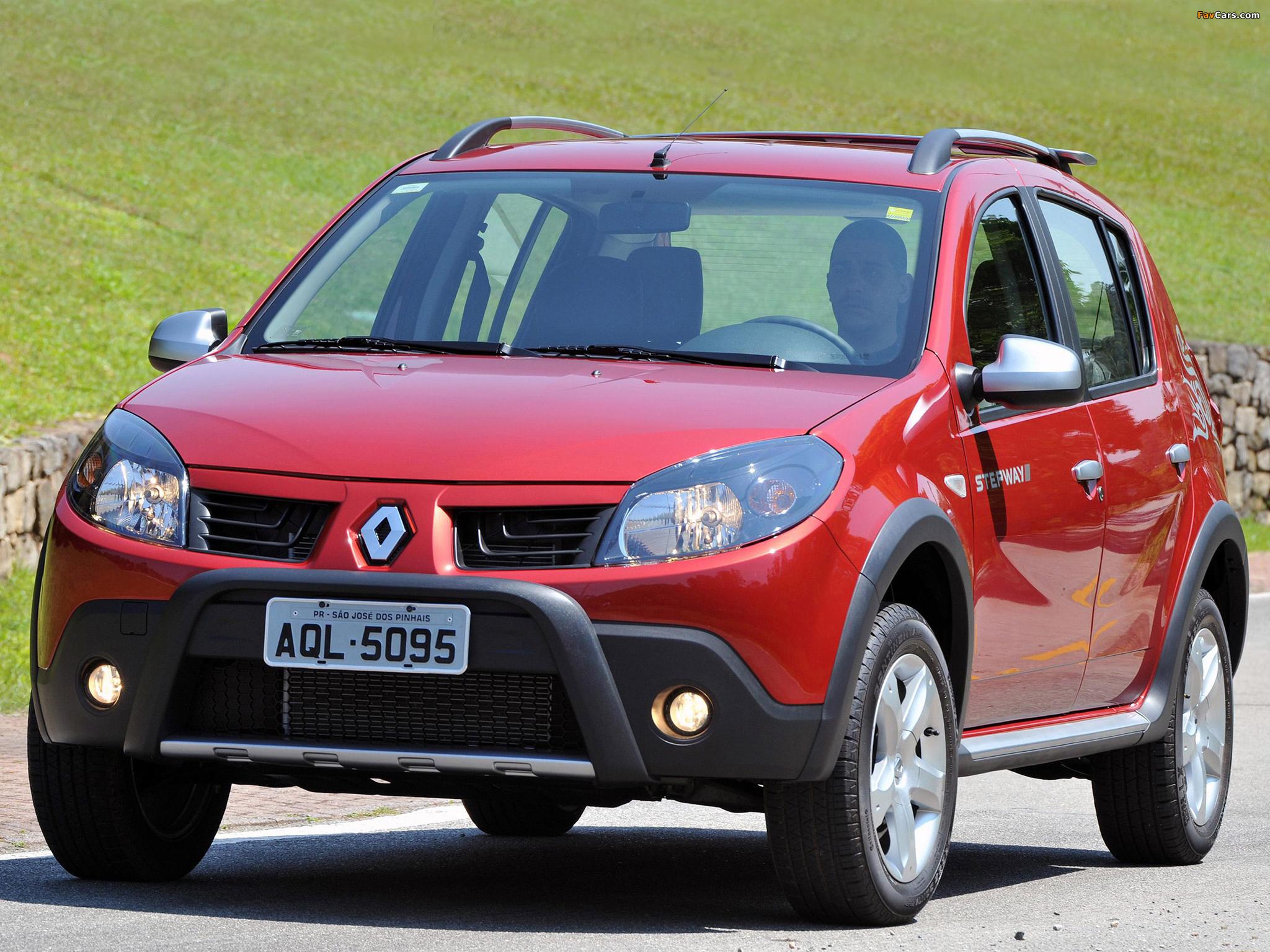 Renault Sandero Stepway BR-spec 2008–11 pictures (2048 x 1536)