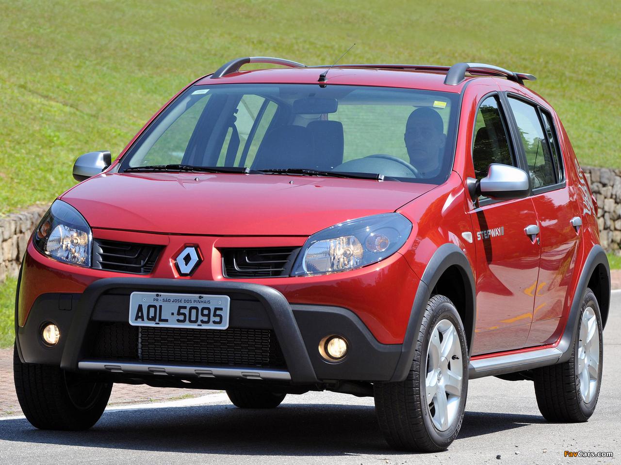 Renault Sandero Stepway BR-spec 2008–11 pictures (1280 x 960)