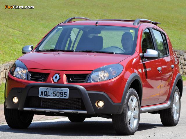 Renault Sandero Stepway BR-spec 2008–11 pictures (640 x 480)