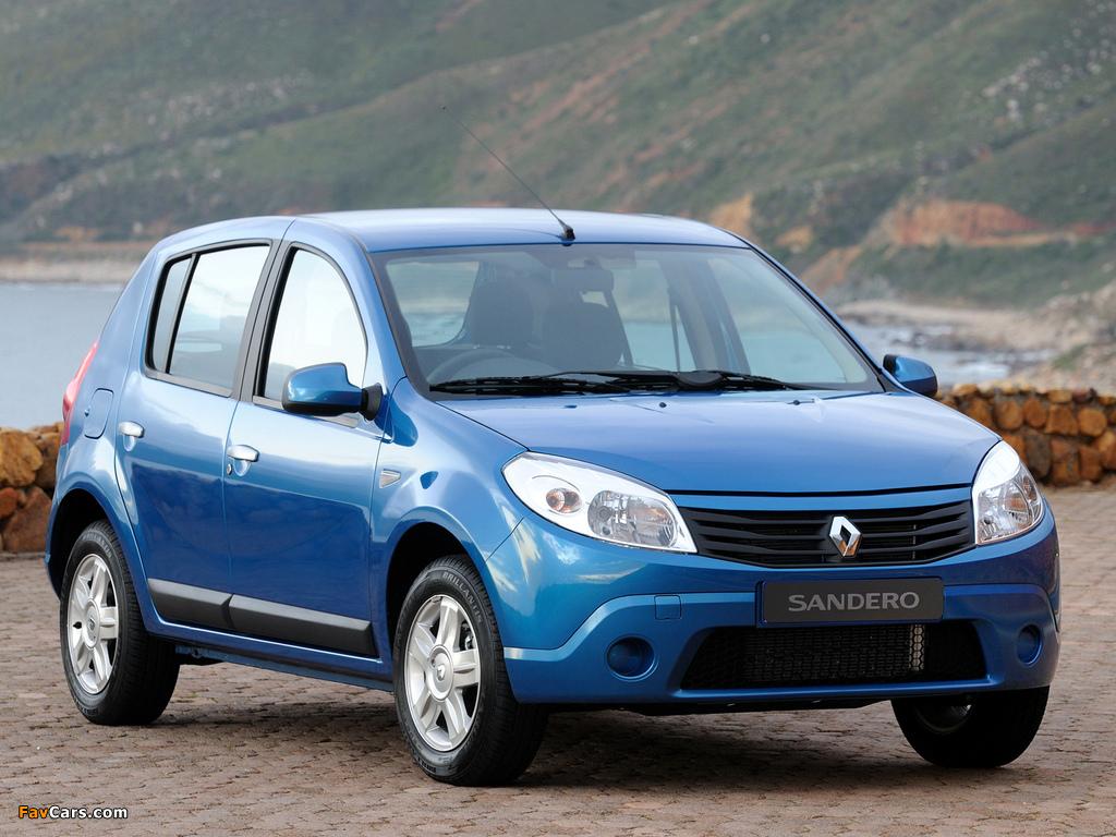 Renault Sandero ZA-spec 2009 images (1024 x 768)