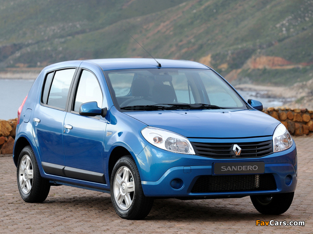 Renault Sandero ZA-spec 2009 images (640 x 480)