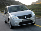 Renault Sandero ZA-spec 2009 images