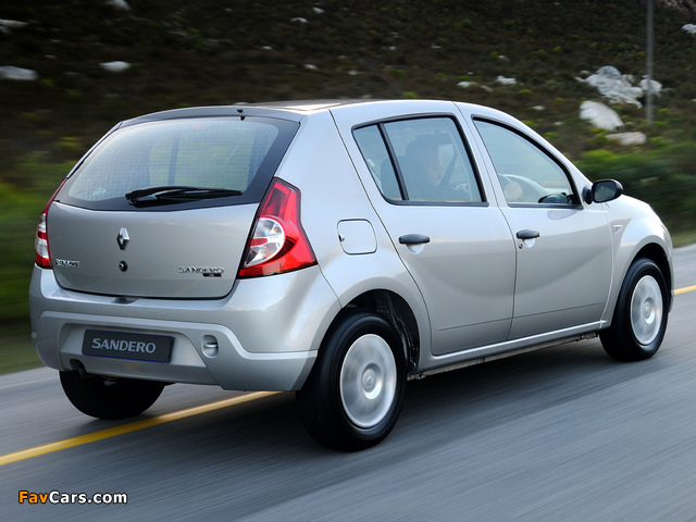 Renault Sandero ZA-spec 2009 pictures (640 x 480)