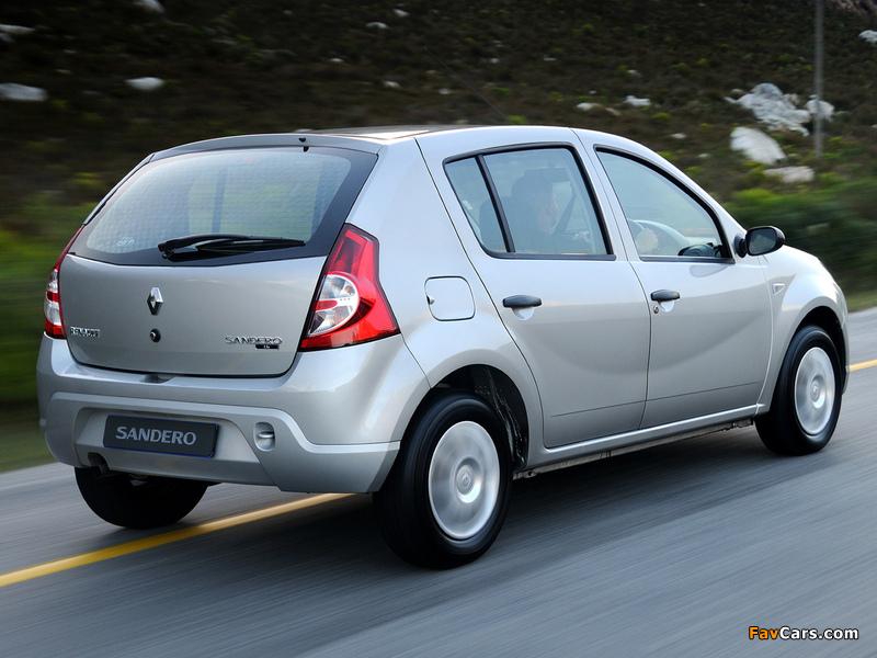 Renault Sandero ZA-spec 2009 pictures (800 x 600)