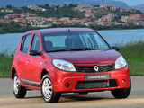 Renault Sandero ZA-spec 2009 wallpapers
