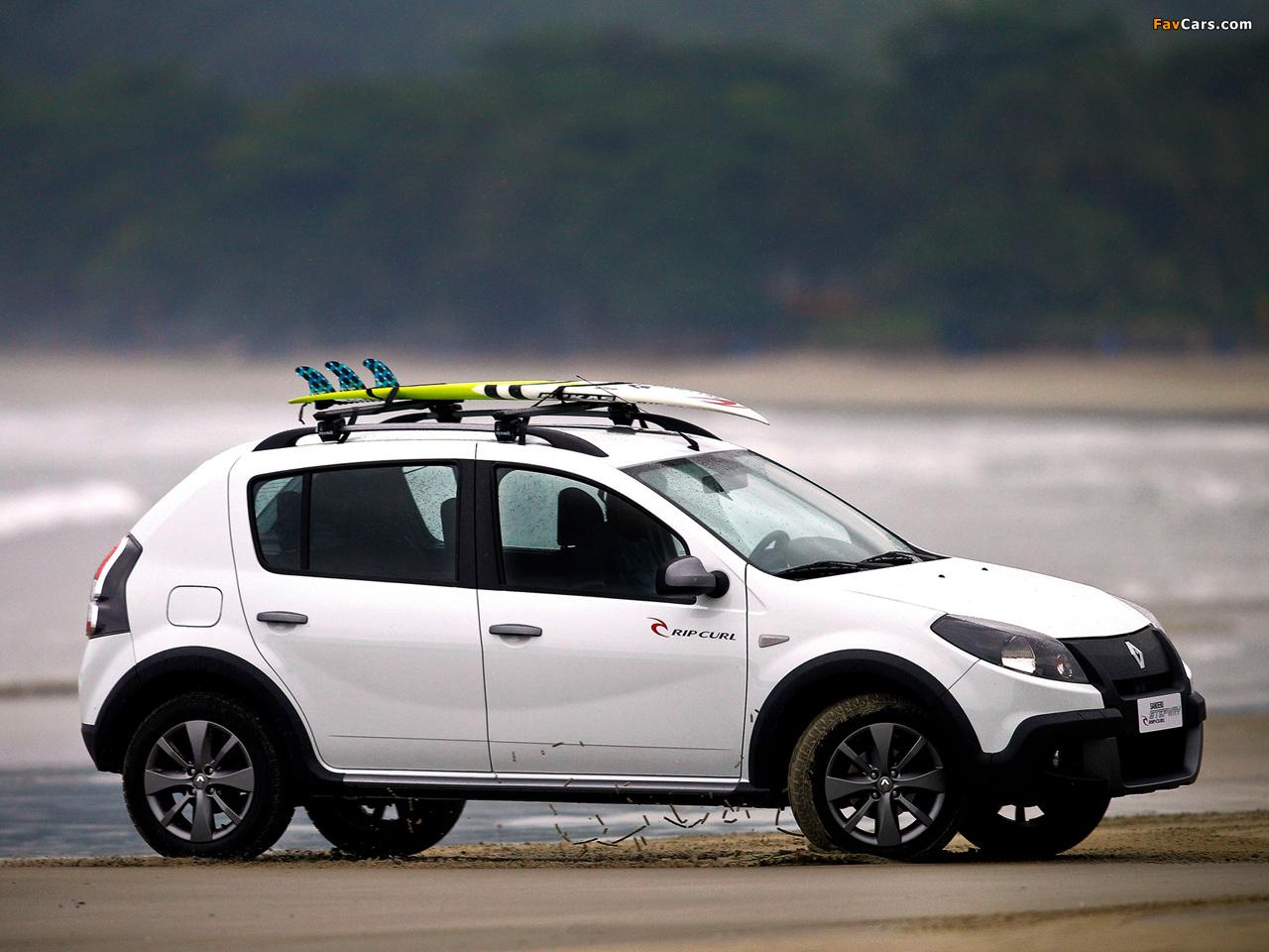 Renault Sandero Stepway Rip Curl 2012 images (1280 x 960)