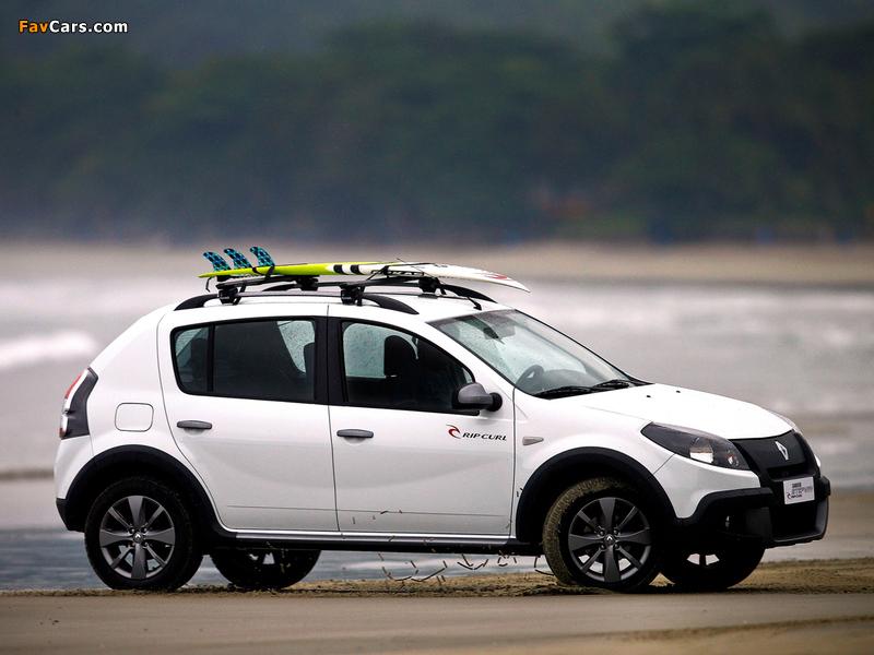 Renault Sandero Stepway Rip Curl 2012 images (800 x 600)