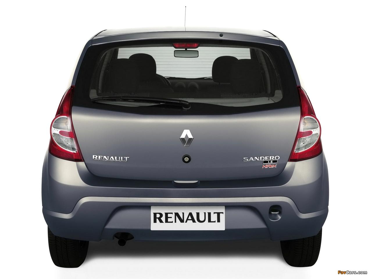 Renault Sandero BR-spec 2007–11 wallpapers (1280 x 960)