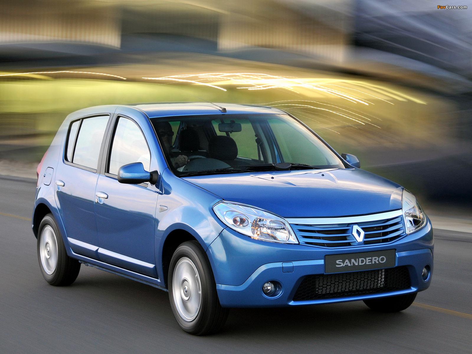 Renault Sandero ZA-spec 2009 wallpapers (1600 x 1200)