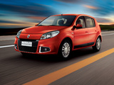 Renault Sandero BR-spec 2011 wallpapers