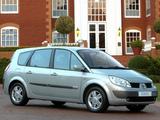 Photos of Renault Grand Scenic ZA-spec 2004–07