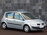 Photos of Renault Scenic ZA-spec 2004–07