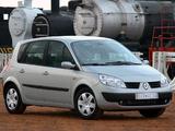 Pictures of Renault Scenic ZA-spec 2004–07