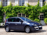 Pictures of Renault Scenic 2009–12