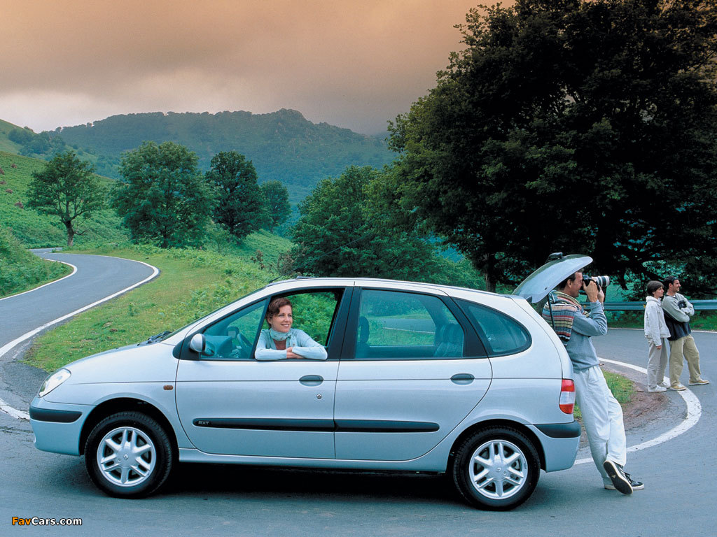 Renault Scenic 19992002 Wallpapers
