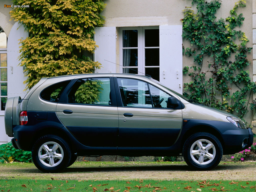 Renault Scenic RX4 2000–02 pictures (1024 x 768)