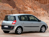 Renault Scenic ZA-spec 2004–07 photos