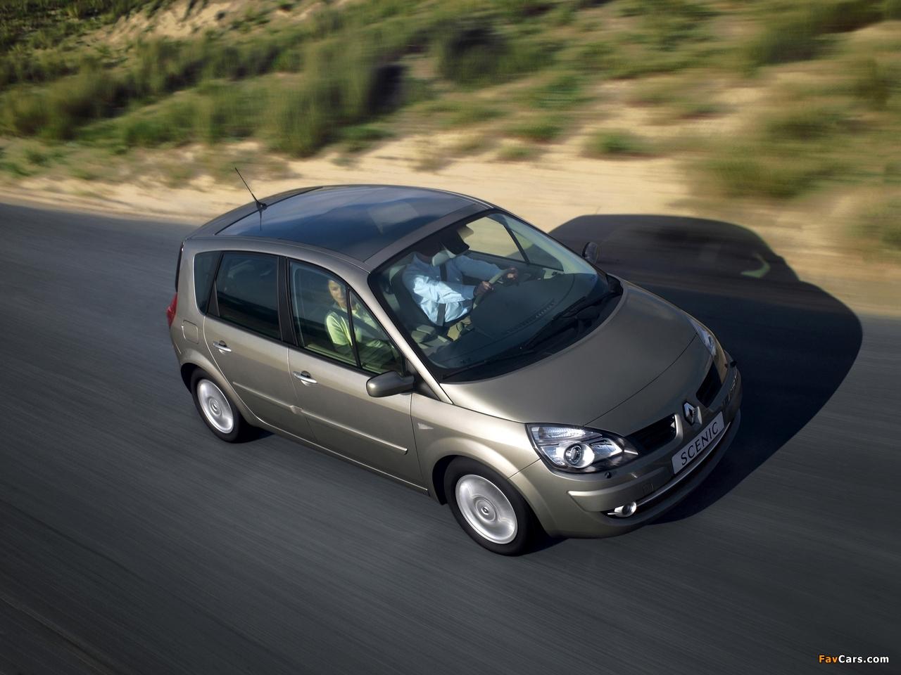 Renault Scenic 2006–09 photos (1280 x 960)