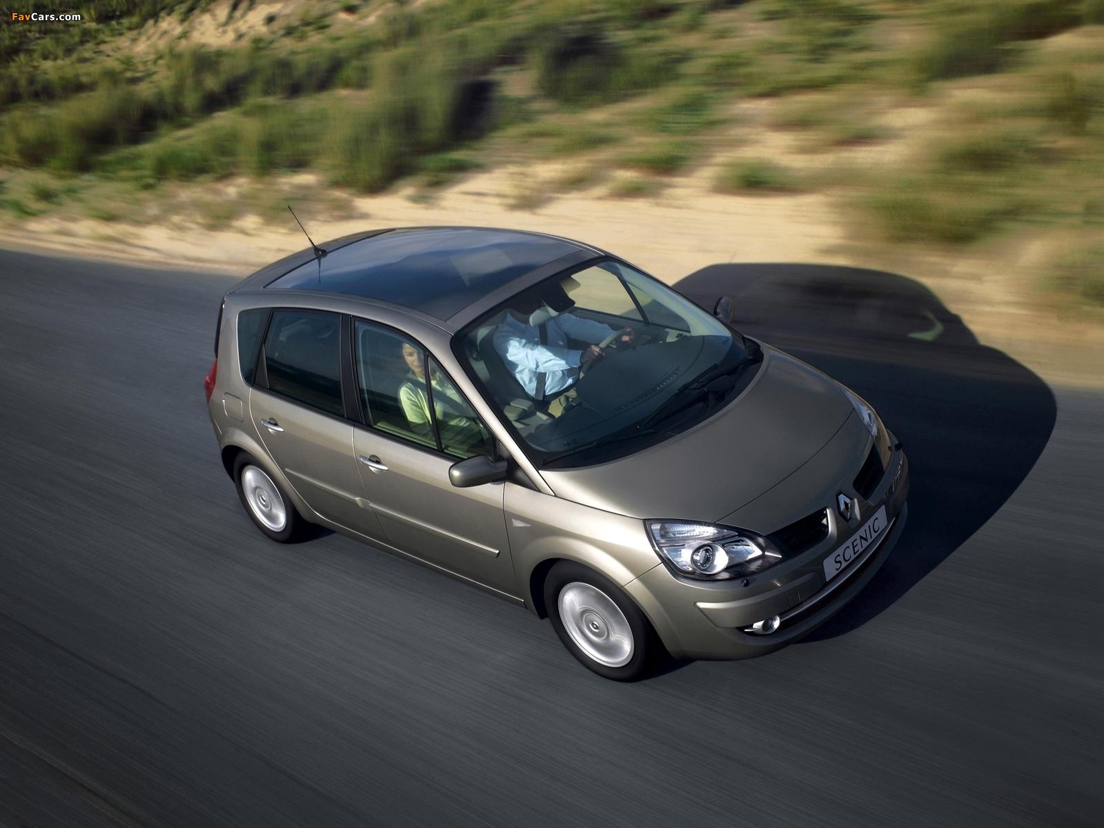 Renault Scenic 2006–09 photos (1600 x 1200)