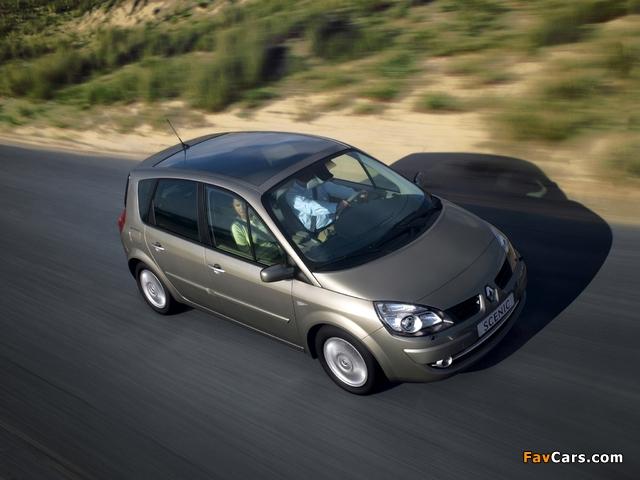 Renault Scenic 2006–09 photos (640 x 480)