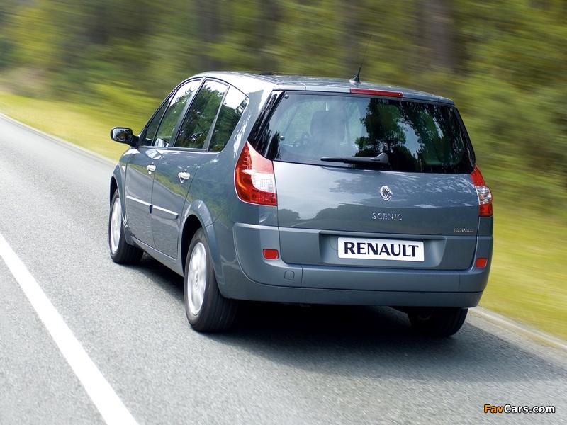 Renault Grand Scenic 2006–09 photos (800 x 600)
