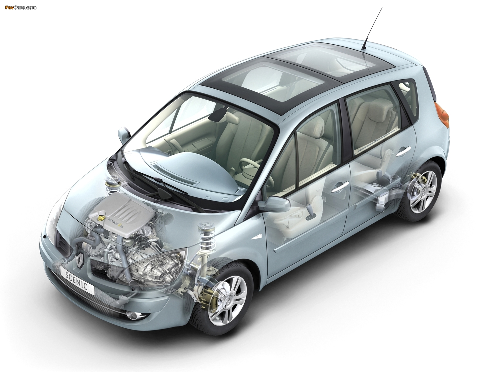 Renault Scenic 2006–09 pictures (1600 x 1200)