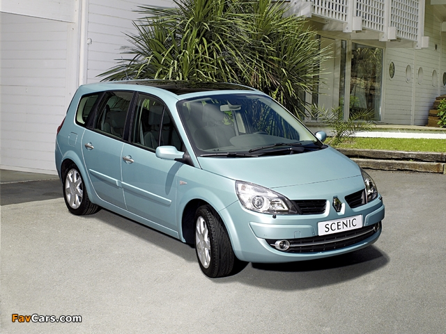 Renault Grand Scenic 2006–09 wallpapers (640 x 480)