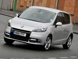 Renault Scenic UK-spec 2012–13 images