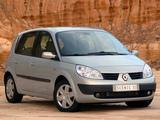 Renault Scenic ZA-spec 2004–07 wallpapers