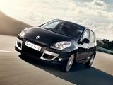 Renault Scenic UK-spec 2009–12 wallpapers