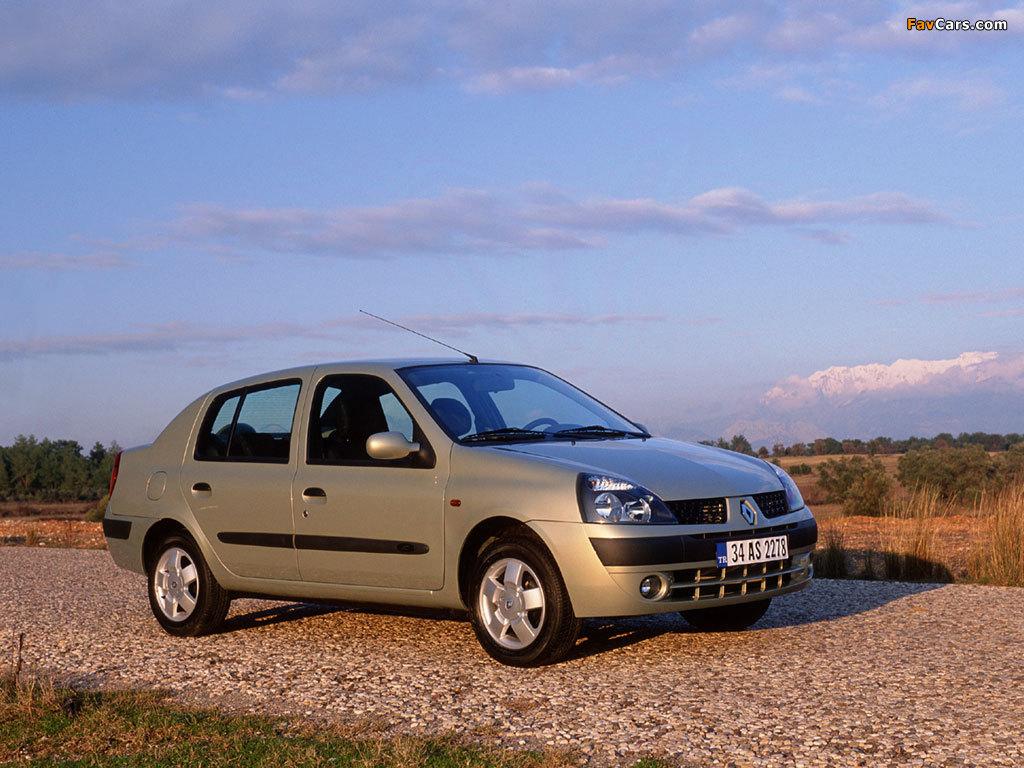 Images of Renault Clio Symbol 2001–08 (1024 x 768)