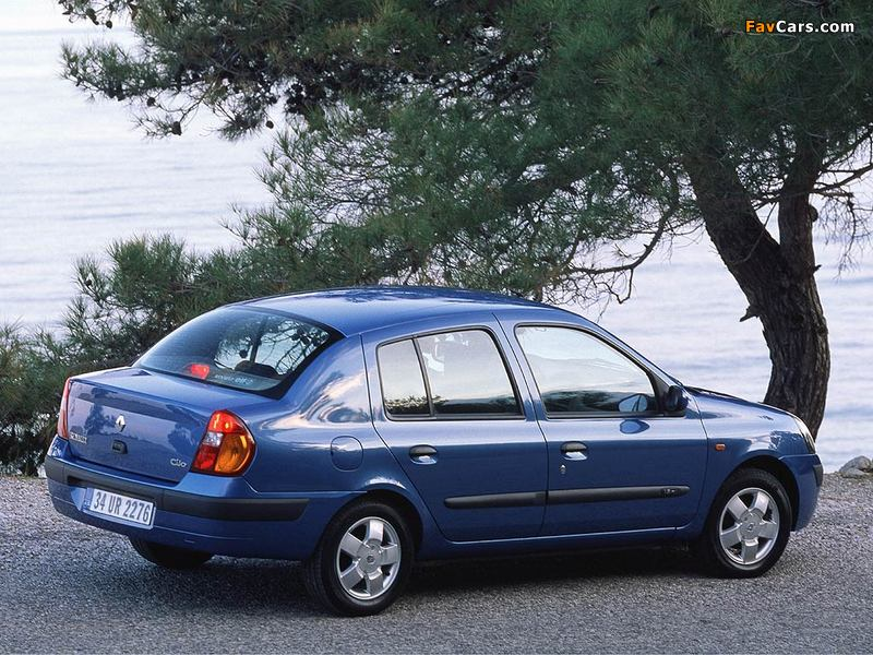 Photos of Renault Clio Symbol 2001–08 (800 x 600)
